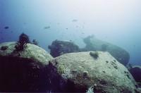 Валуны под водой