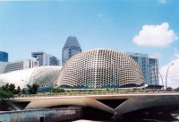 Архитектура в Сингапуре на высоте !
