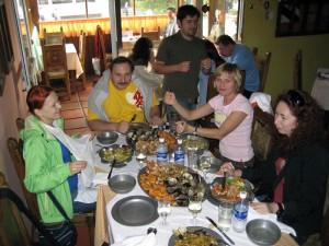 В рыбном ресторане