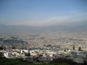Панорама Кито