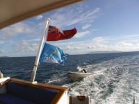 "Флаг ""Гольфстрима"" реет рядом с флагом Фиджи... :)"