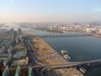 Вид на Сеул сверху