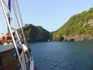 Стоянка у острова Ко Бон