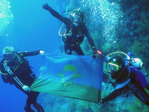 Десантный флаг podvodoi