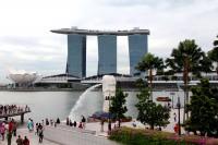 Одна из достопримечательностей Сингапура