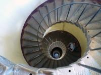 Внутри башни маяка