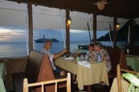 Ужин с видом на море