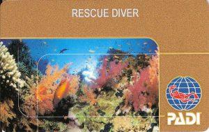 """""""Золотой"""" сертификат Rescue Diver"""