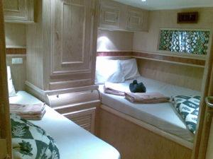 Двухместная каюта с раздельными кроватями
